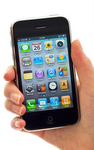 iPhone met app voor timer