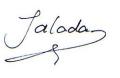 Handtekening Jalada