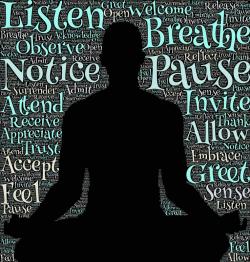 Stil worden en luisteren