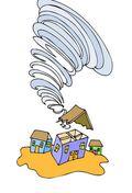Tornadohuiskleindreamstime_9595549
