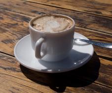 Geen tijd om koffie te drinken!