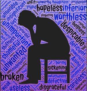 Wanhoop, schaamte en zelfveroordeling