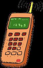 De telefoon gaat....