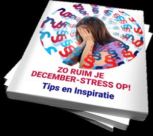 Gratis eBook over december-stress van Jalada Goddijn-Koopmans