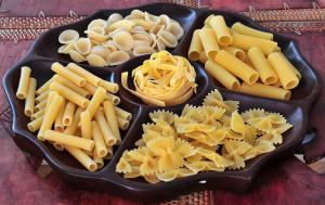 Pasta's = koolhydraten